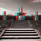 Peace Pagoda, Willen by George Parapadakis (monocotylidono)
