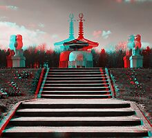 Peace Pagoda, Willen by George Parapadakis (monocotylidono)