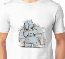 Rumblin' Rhino has a bad Day Unisex T-Shirt