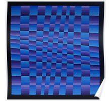 Vague Blur (Violet / Blue ii) Poster