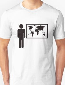 Geography teacher Unisex T-Shirt