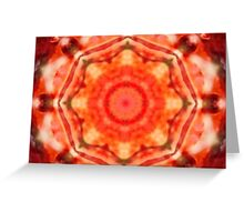 Fractal Molecule Greeting Card