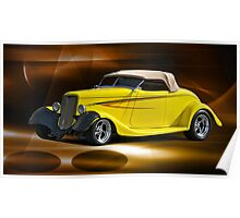 1933 Ford Roadster Poster