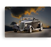 1934 Ford Cabriolet I Canvas Print