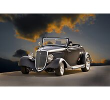 1934 Ford Cabriolet I Photographic Print