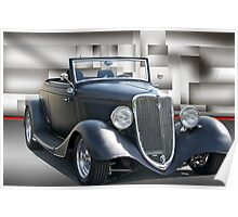 1934 Ford Cabriolet II Poster