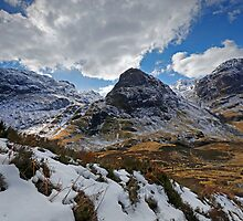 Three Sisters of Glencoe by Martin Lawrence