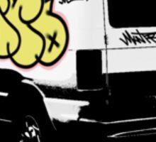 the montro-van stikr Sticker