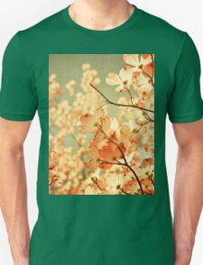 Vintage Pink Spring Flowers T-Shirt
