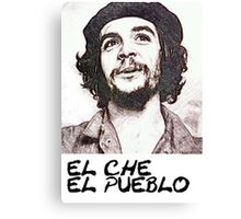 Che Guevara -El Pueblo- Canvas Print