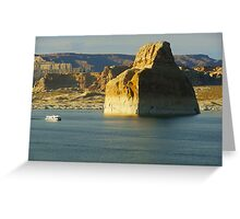 Lone Rock Greeting Card