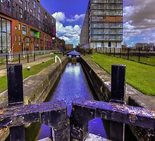 Lock 3 Ashton Canal by inkedsandra