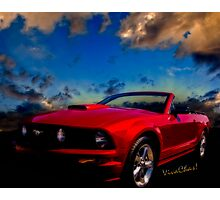 The Mustang Dream Photographic Print