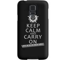 Keep Calm 2 Samsung Galaxy Case/Skin