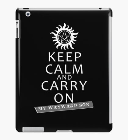 Keep Calm 2 iPad Case/Skin