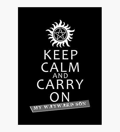 Keep Calm 2 Photographic Print