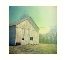 Early Morning in the Country Art Print