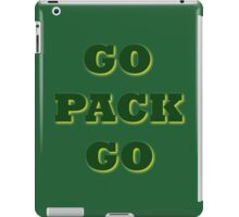 GO PACK GO  iPad Case/Skin