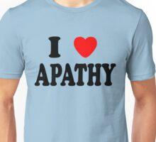 I Heart Apathy Unisex T-Shirt