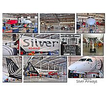 Silver Airways Photo Collage 1 Photographic Print
