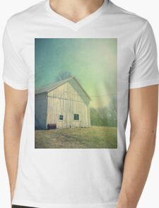 Early Morning in the Country Mens V-Neck T-Shirt