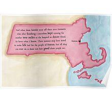 Boston Love Poster