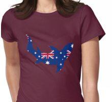 Tile Me Australia Sharkie Womens Fitted T-Shirt