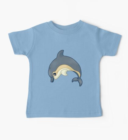 Leaping common dolphin Baby Tee