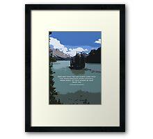 Travel Bag Framed Print