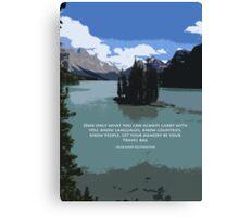 Travel Bag Canvas Print
