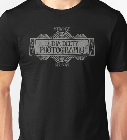 Lydia Deetz Photography Unisex T-Shirt
