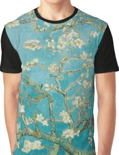 Vincent Van Gogh Almond Blossoms at St. Remy Graphic T-Shirt