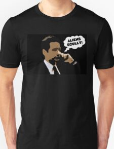"X-Files Mulder ""Aliens Scully"" T-Shirt"