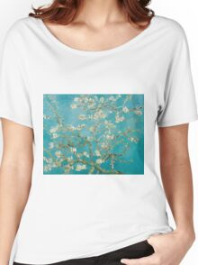 Vincent Van Gogh Almond Blossoms at St. Remy Women's Relaxed Fit T-Shirt