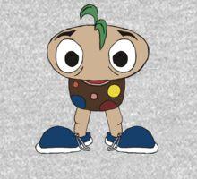 Mushroom Kid One Piece - Long Sleeve