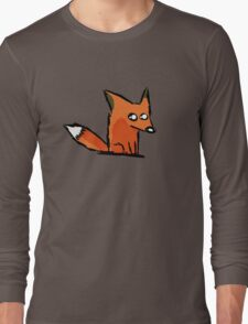 A Simple Fox for a Simple Person Long Sleeve T-Shirt