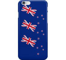 Smartphone Case - Flag of New Zealand - Triple iPhone Case/Skin