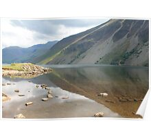 Reflection- Wast Water Poster