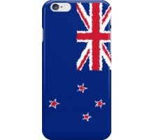 Smartphone Case - Flag of New Zealand - Vertical painted iPhone Case/Skin