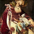Madonna with Falling Christ Child. by nawroski .