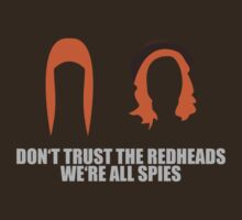 Redhead Spies by brennooth