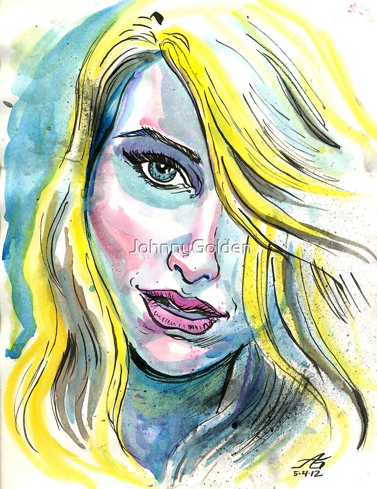 Blue Water Blonde by JohnnyGolden