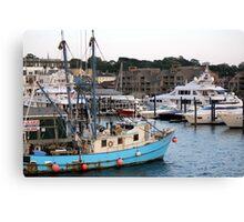 Newport Harbor Canvas Print