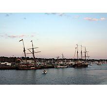 Tall Ships at Anchor Photographic Print