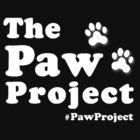 Paw Project Logo in White by PawProject