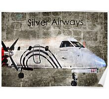 Silver Instrument Panel Overlay Poster