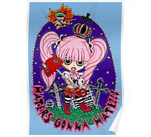 One Piece Perona Haters Gonna Hate Poster