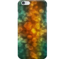 Orange Bokeh iPhone Case/Skin