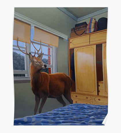 The Messenger, 2012, Oil on Linen, 76x61cm, 2012.  Poster