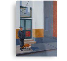The Familiar, 2012, Oil on Linen, 61x46cm, 2012. Metal Print